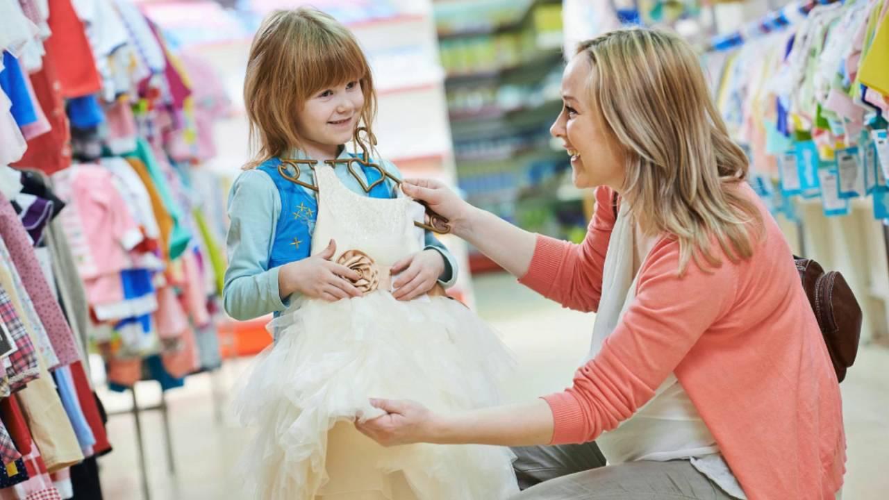 Шоппинг с ребёнком